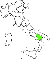 Basilicata location