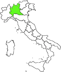 Lombardy location