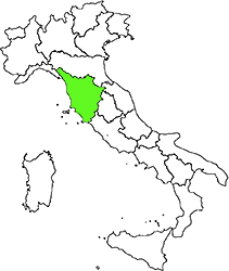 Tuscany location