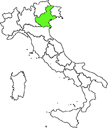 Veneto location